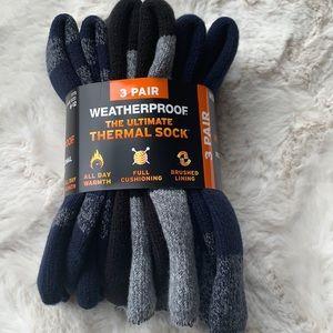 Weatherproof Ultimate Thermal Crew Socks 3Pk